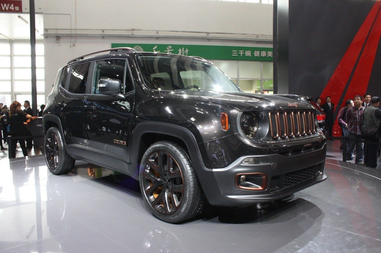 2017 Jeep Renegade Zi You Xia Concept photo - 1
