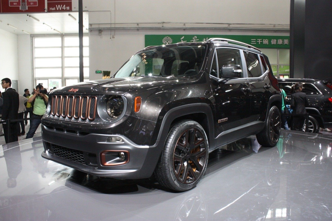 2017 Jeep Renegade Zi You Xia Concept photo - 3