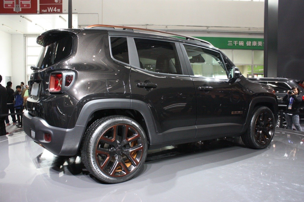 2017 Jeep Renegade Zi You Xia Concept photo - 4
