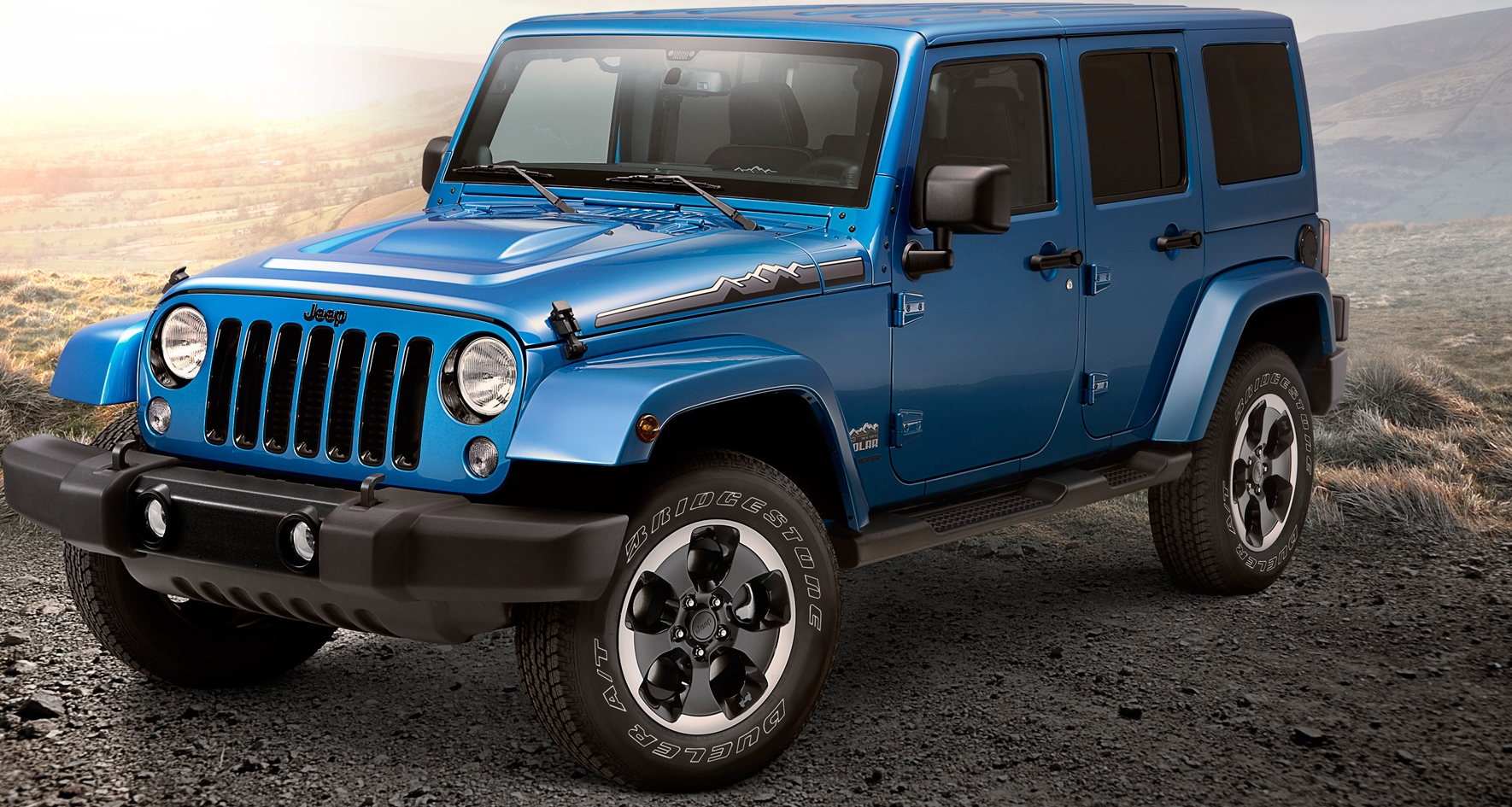 2017 Jeep Wrangler Unlimited UK Version photo - 4