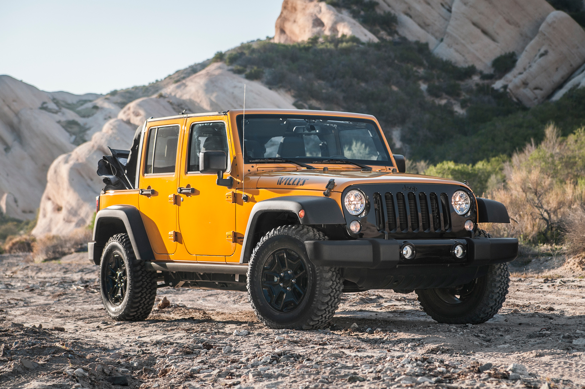 2017 Jeep Wrangler Willys Wheeler photo - 4