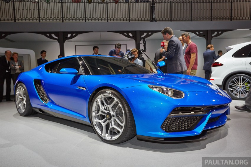 2017 Lamborghini Asterion LPI910 4 Concept photo - 3