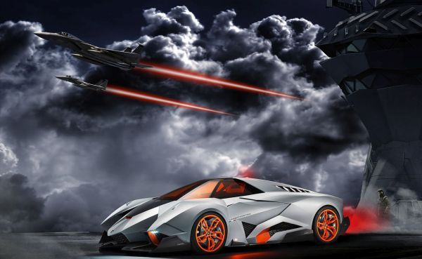2017 Lamborghini Egoista Concept photo - 3