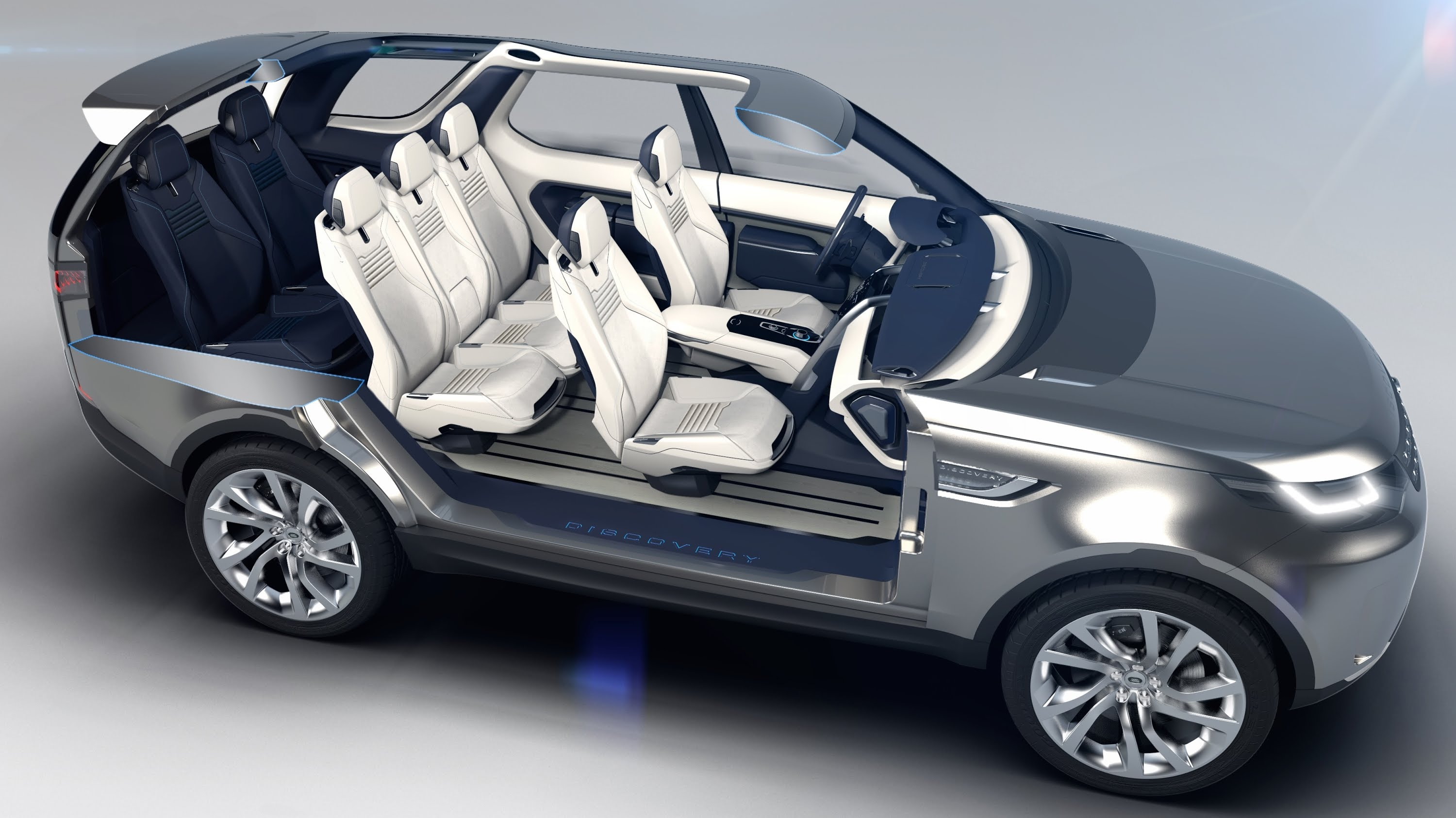 2017 Land Rover Discovery Vision Concept Photo 4