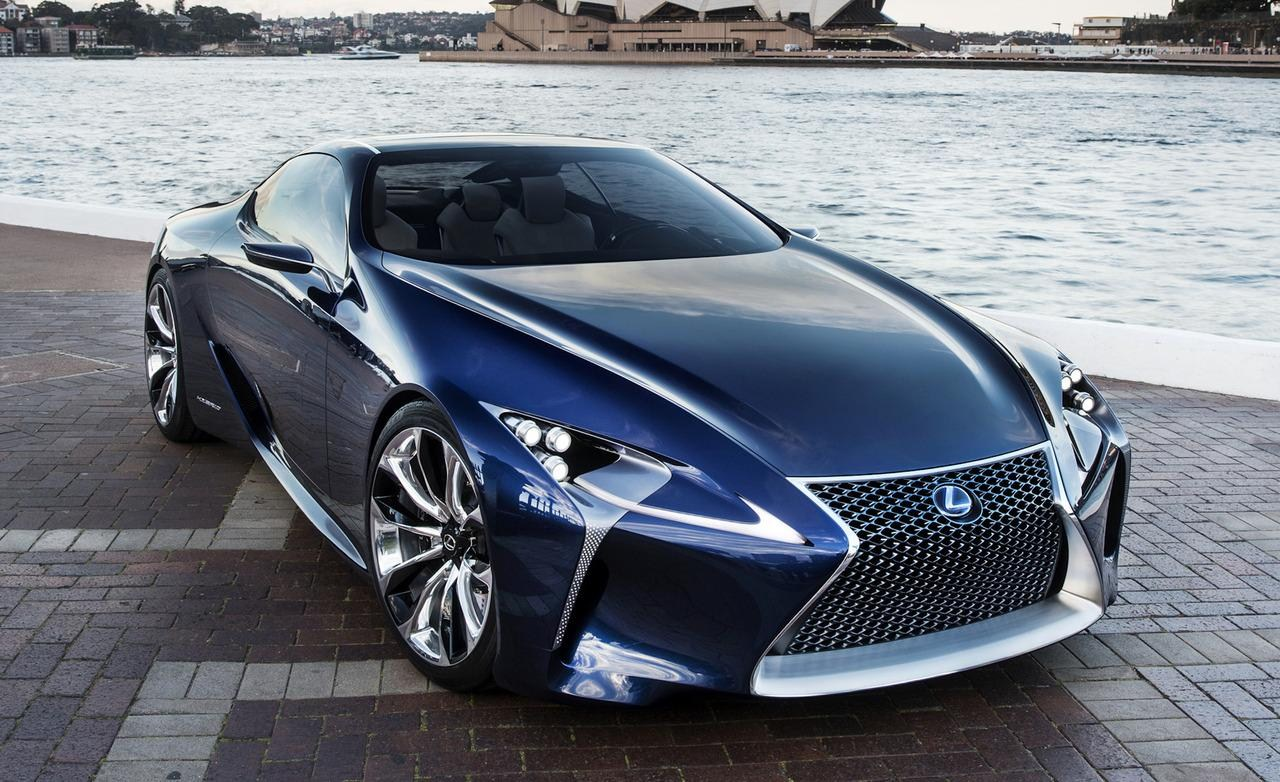 2017 Lexus LF A Concept photo - 3