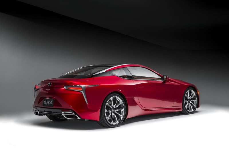2017 Lexus LF A Concept photo - 4