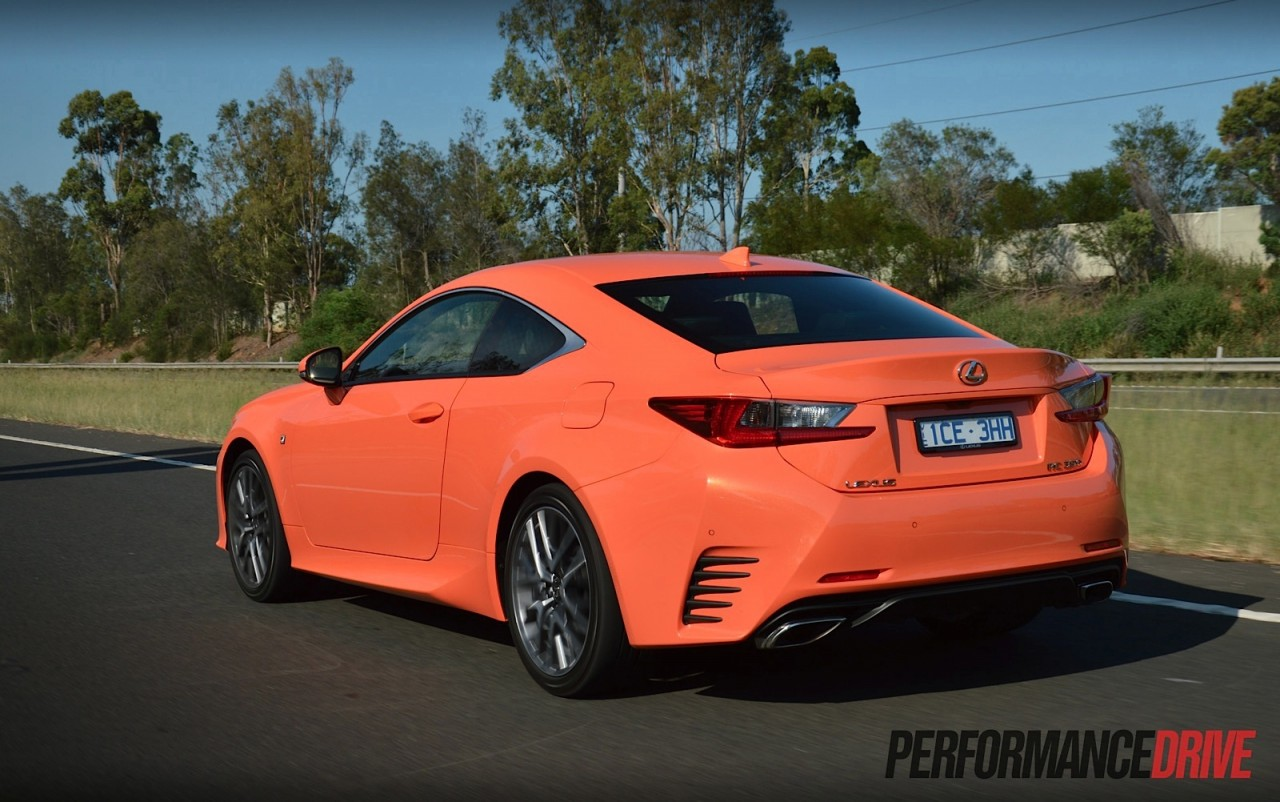 2017 Lexus RC F Sport Car Photos Catalog 2019