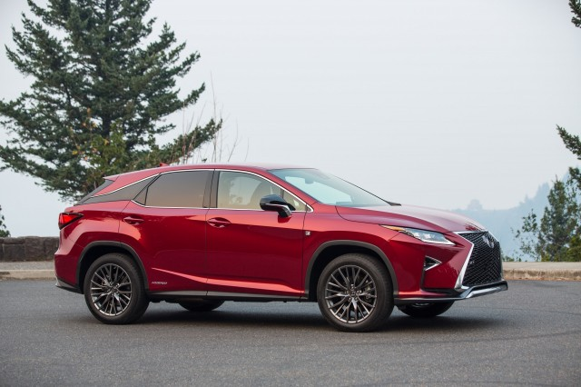 2017 Lexus RX 450h F Sport photo - 4
