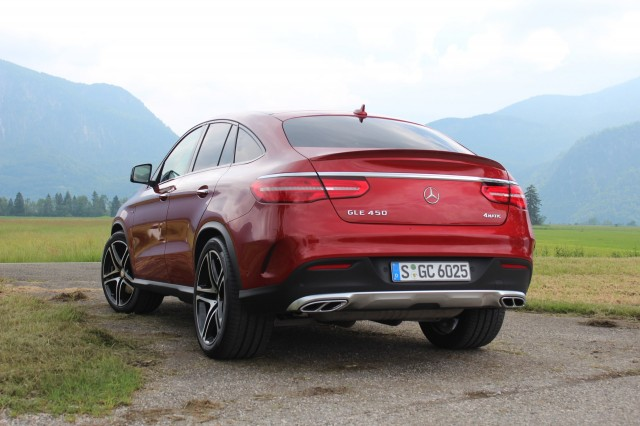 2017 Mercedes Benz GLE Coupe photo - 1