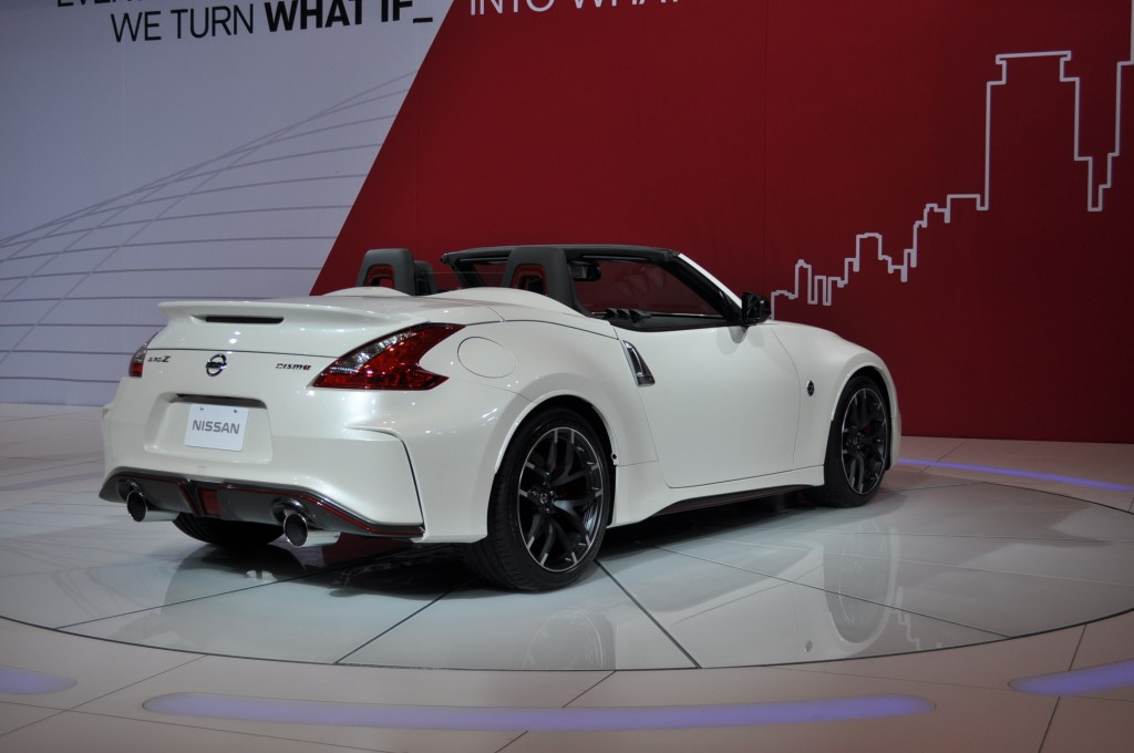 2017 Nissan 370Z Nismo Roadster Concept photo - 1
