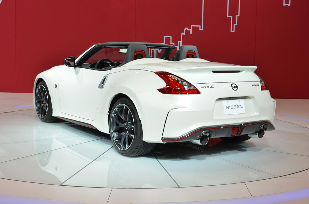 2017 Nissan 370Z Nismo Roadster Concept photo - 2