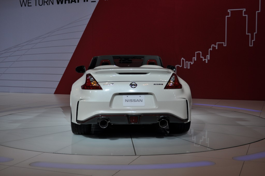 2017 Nissan 370Z Nismo Roadster Concept photo - 4