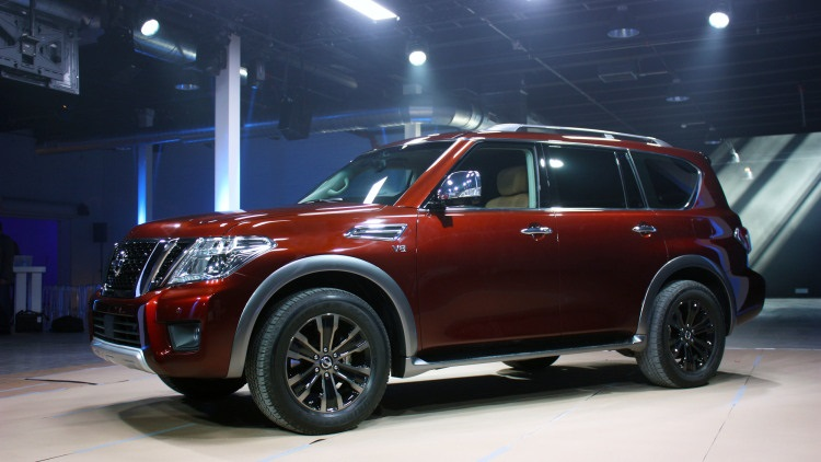 2017 Nissan Pathfinder Armada photo - 2