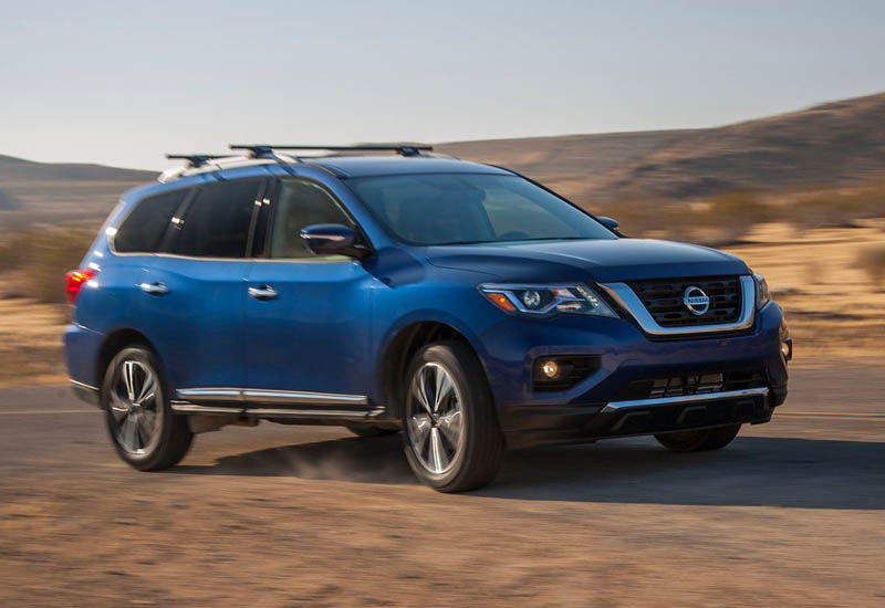 2017 Nissan Pathfinder Armada photo - 4
