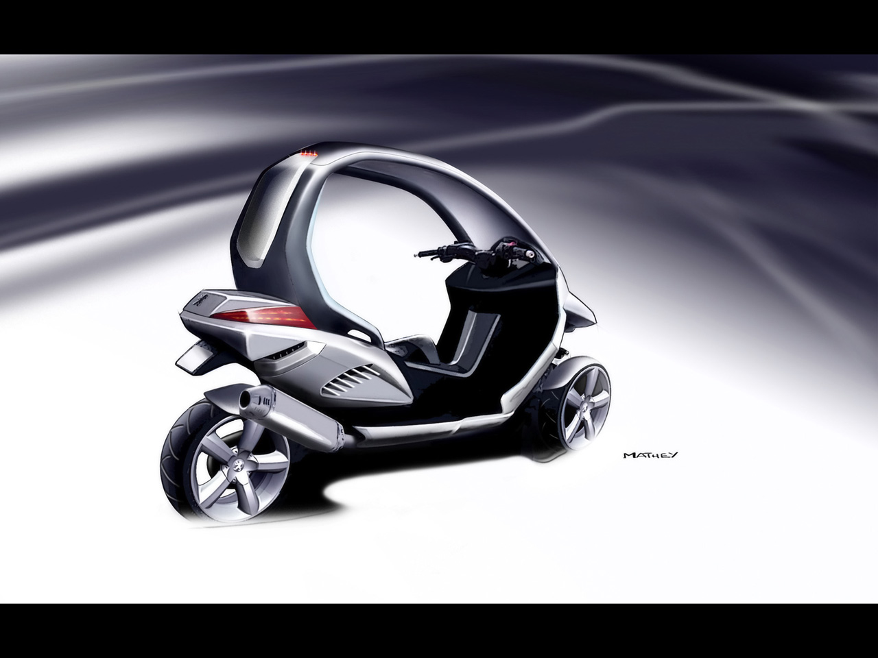 2017 Peugeot HYmotion3 Compressor Concept photo - 3