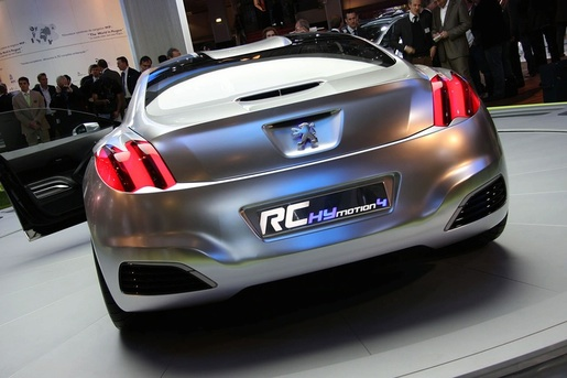 2017 Peugeot Prologue HYmotion4 Concept photo - 3