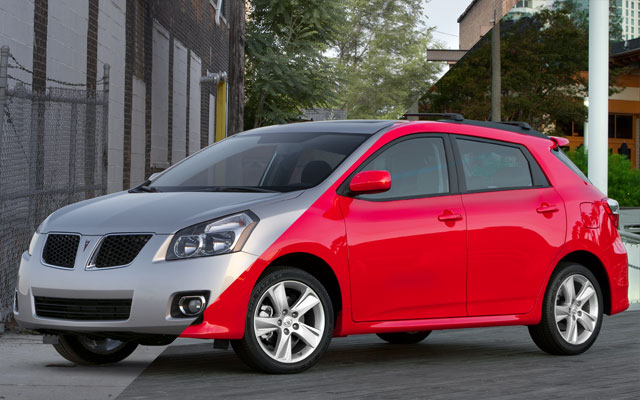 2017 Pontiac Vibe photo - 1