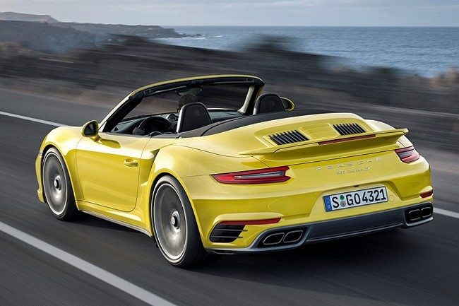 2017 Porsche 911 Turbo Aerokit photo - 3