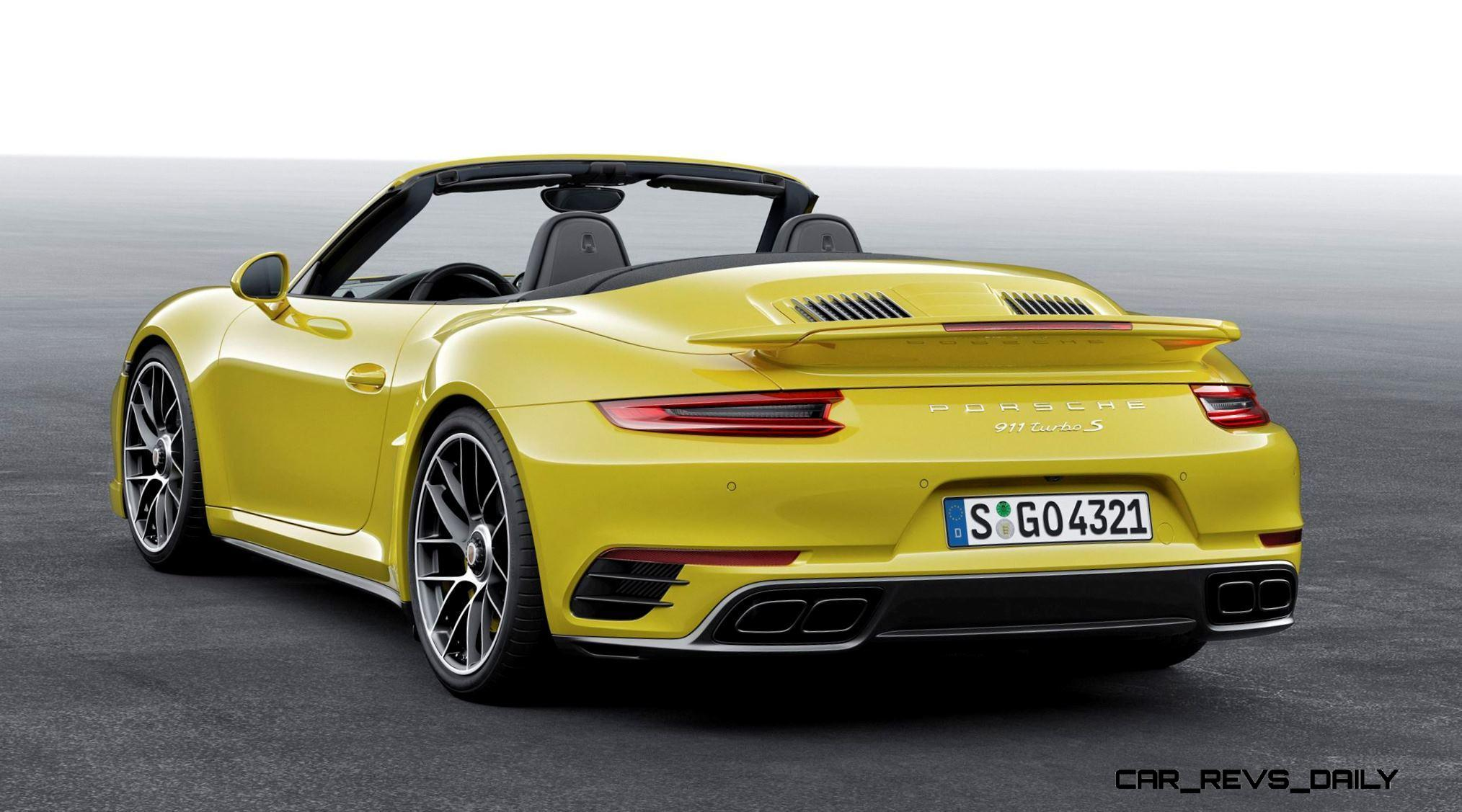 2017 Porsche 911 Turbo S photo - 1