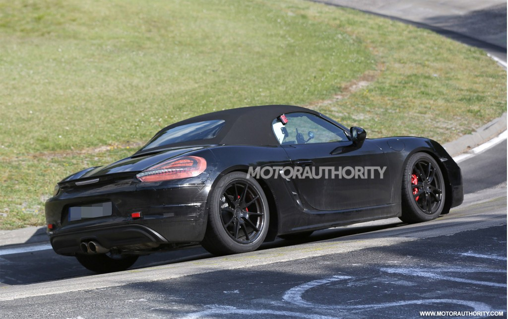 2017 Porsche Boxster photo - 3