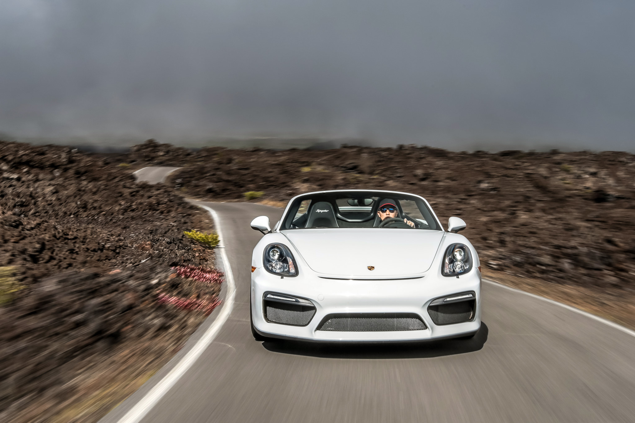 2017 Porsche Boxster Spyder photo - 3