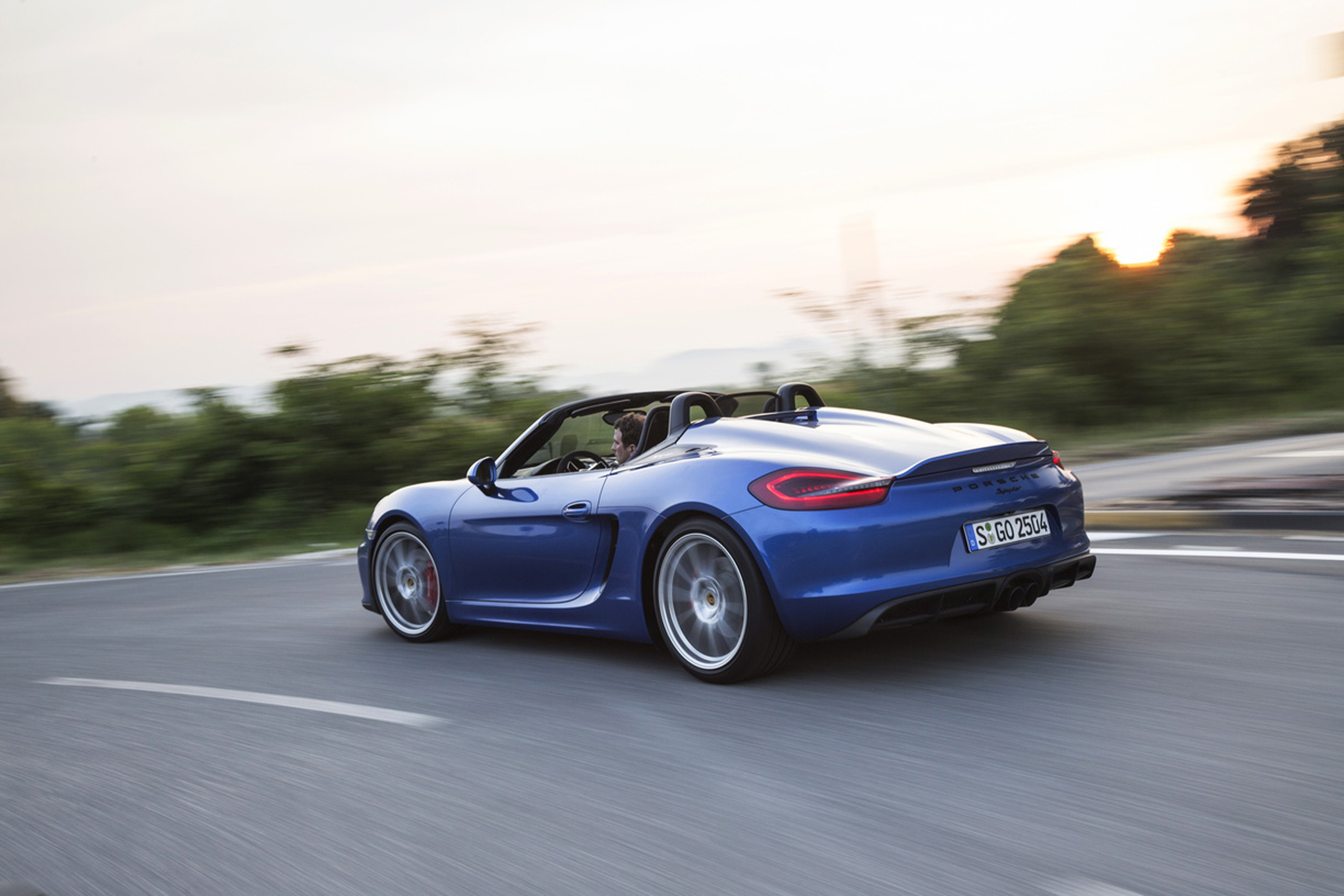 2017 Porsche Boxster Spyder photo - 4