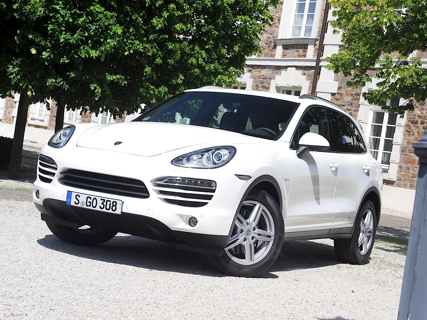 2017 Porsche Cayenne Diesel photo - 1