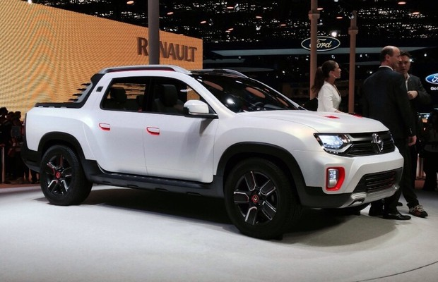 2017 Renault Duster Oroch Concept photo - 1