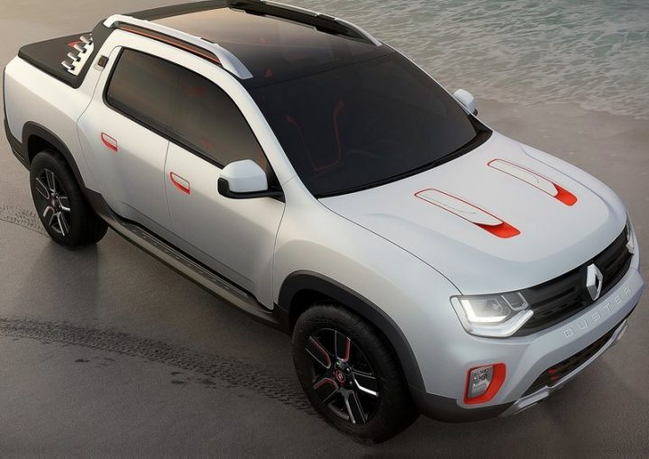 2017 Renault Duster Oroch Concept photo - 2