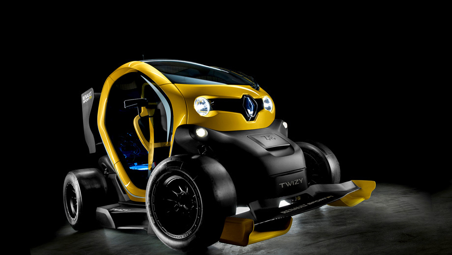 2017 Renault Twizy RS F1 Concept photo - 2