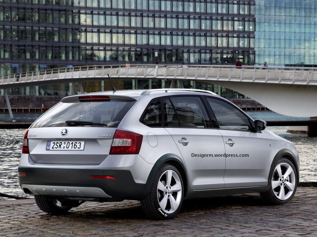 2017 Skoda Roomster Scout photo - 4