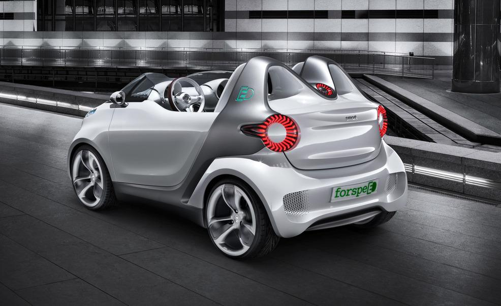 2017 Smart forspeed Concept photo - 1