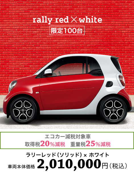 2017 Smart fortwo edition red photo - 4