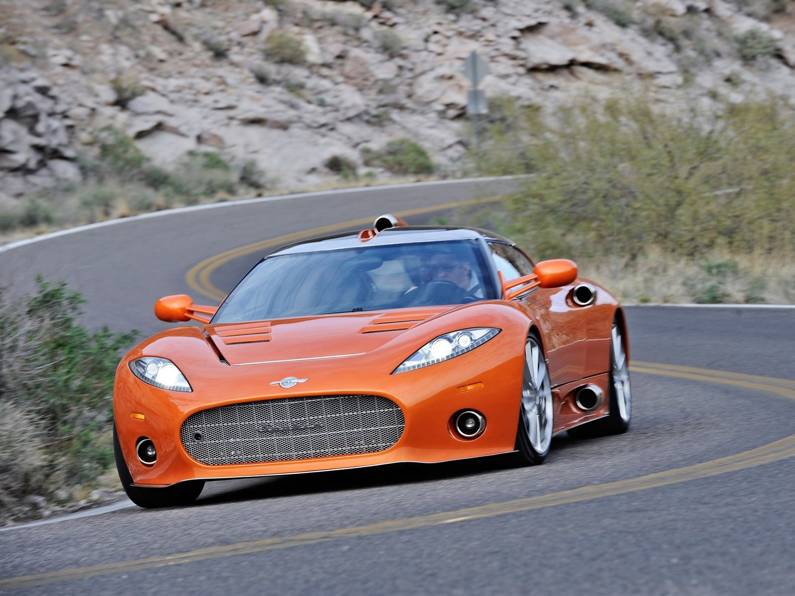 2017 Spyker C8 Aileron photo - 2