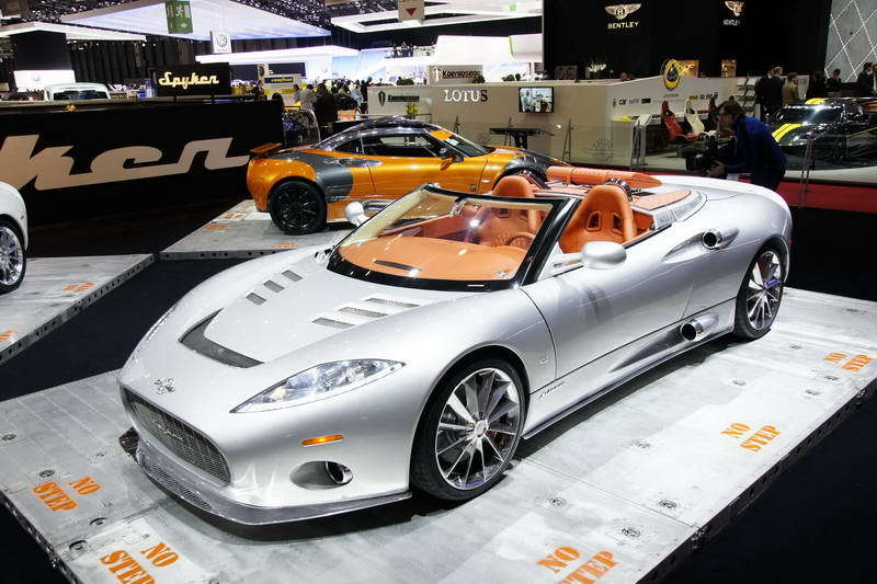 2017 Spyker C8 Aileron photo - 3