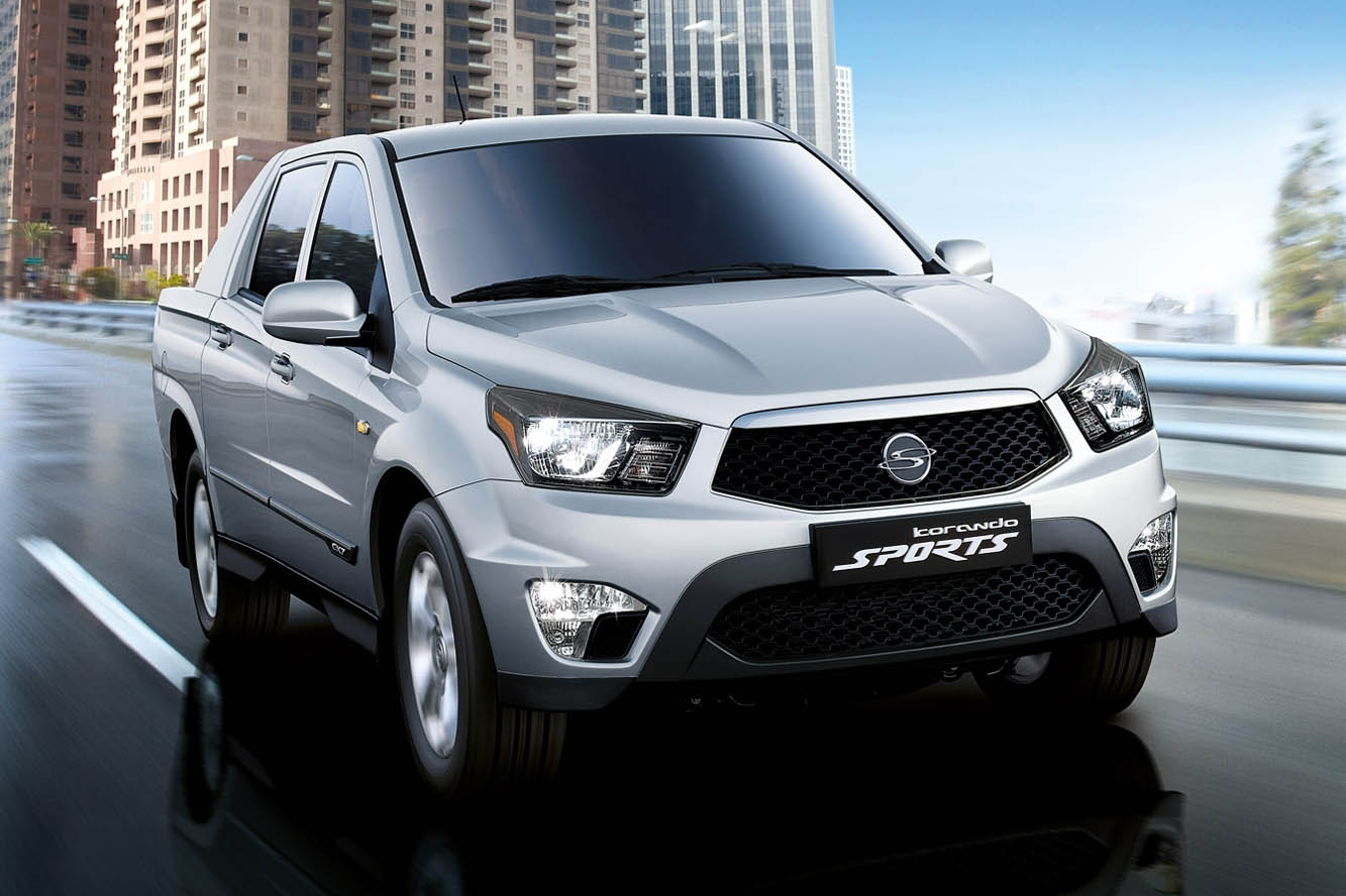 2017 SsangYong Actyon Sports photo - 1