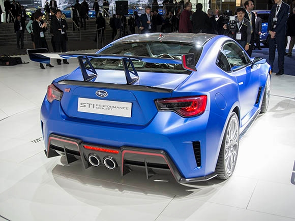 2017 Subaru BRZ STI Concept photo - 2