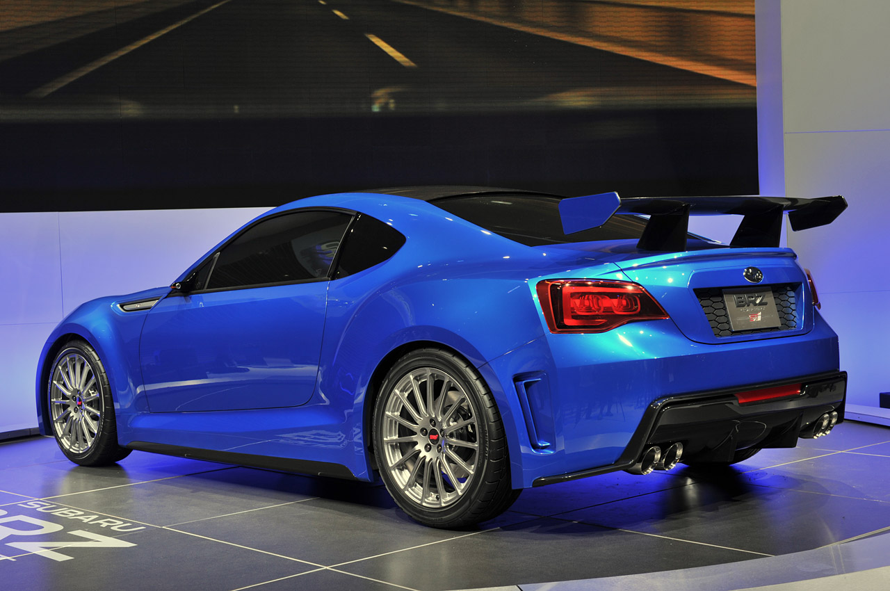 2017 Subaru BRZ STI Concept photo - 3