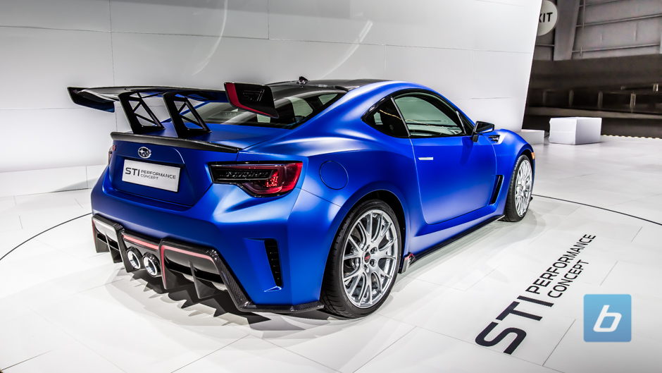 2017 Subaru BRZ STI Performance Concept new photo - 2