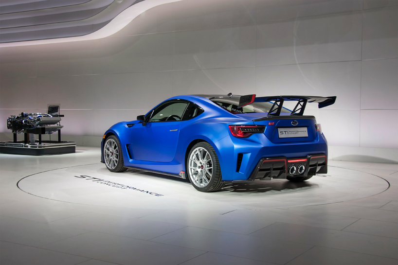 2017 Subaru BRZ STI Performance Concept new photo - 3