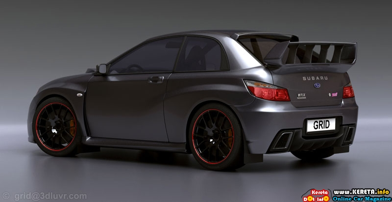2017 Subaru Impreza WRX STI Carbon Concept photo - 1