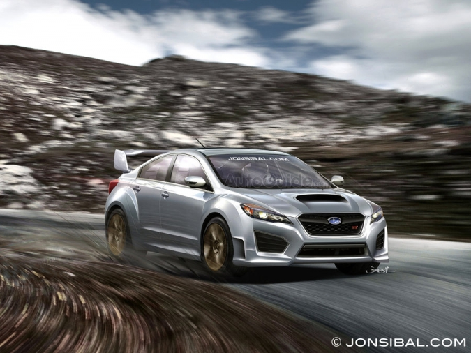 2017 Subaru Impreza WRX STI Carbon Concept photo - 2