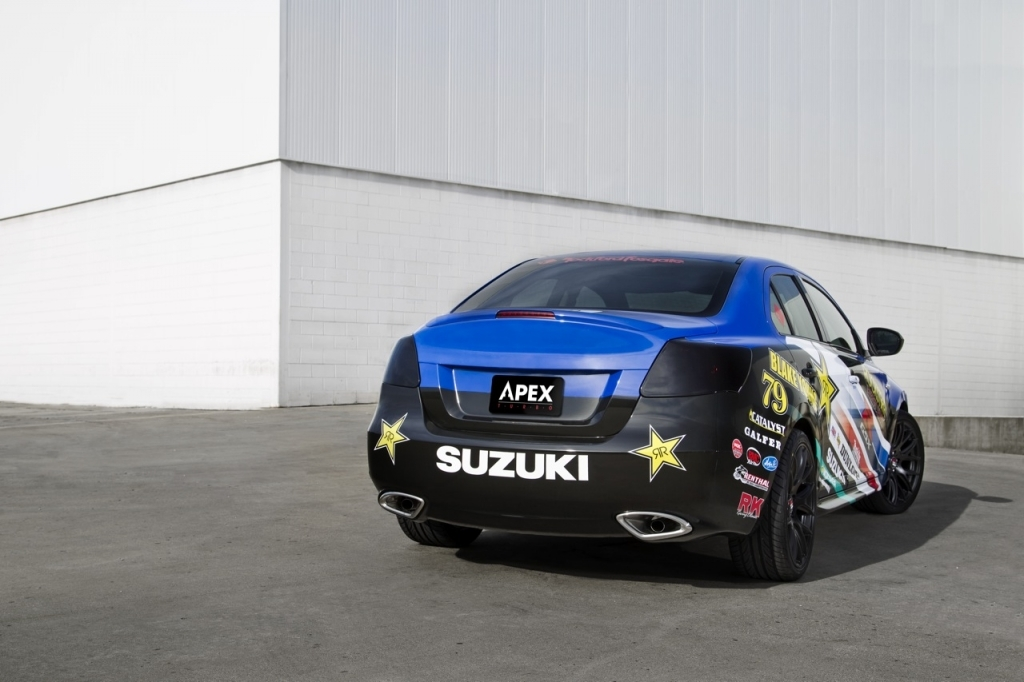 2017 Suzuki Kizashi Apex Concept photo - 2
