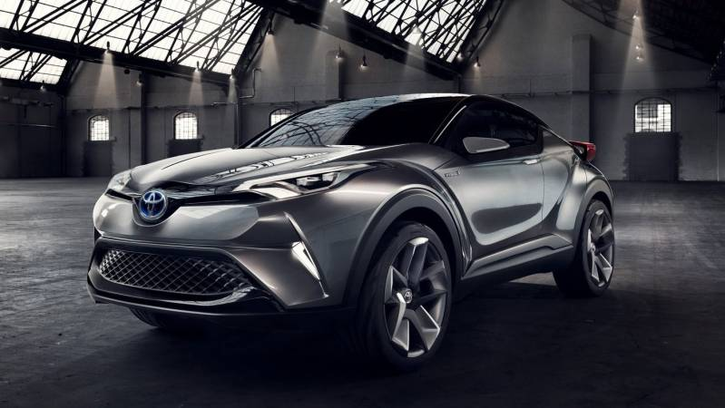 2017 Toyota FT CH Concept photo - 1