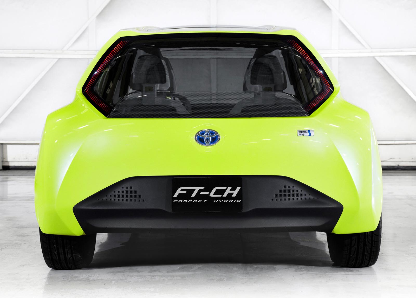 2017 Toyota FT CH Concept photo - 4