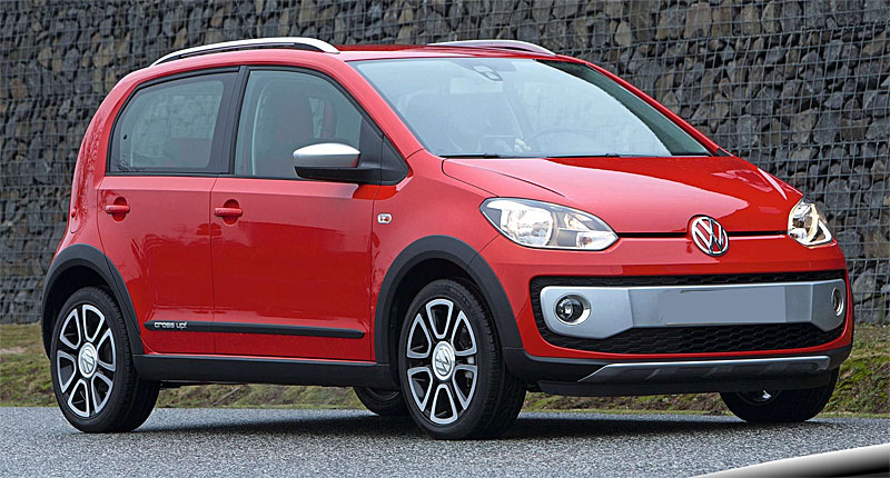 2017 Volkswagen Cross Up photo - 3