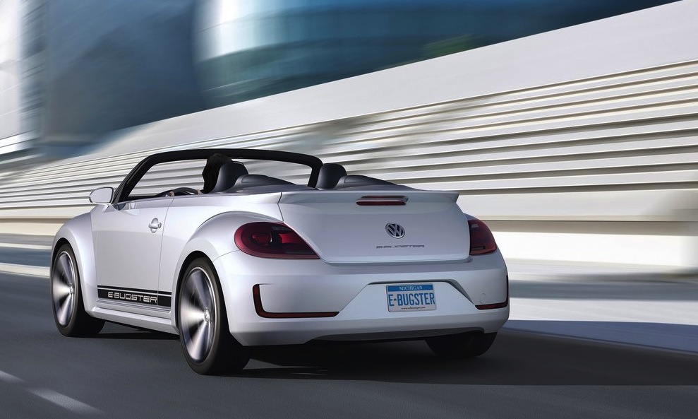 2017 Volkswagen E Bugster Speedster Concept photo - 2