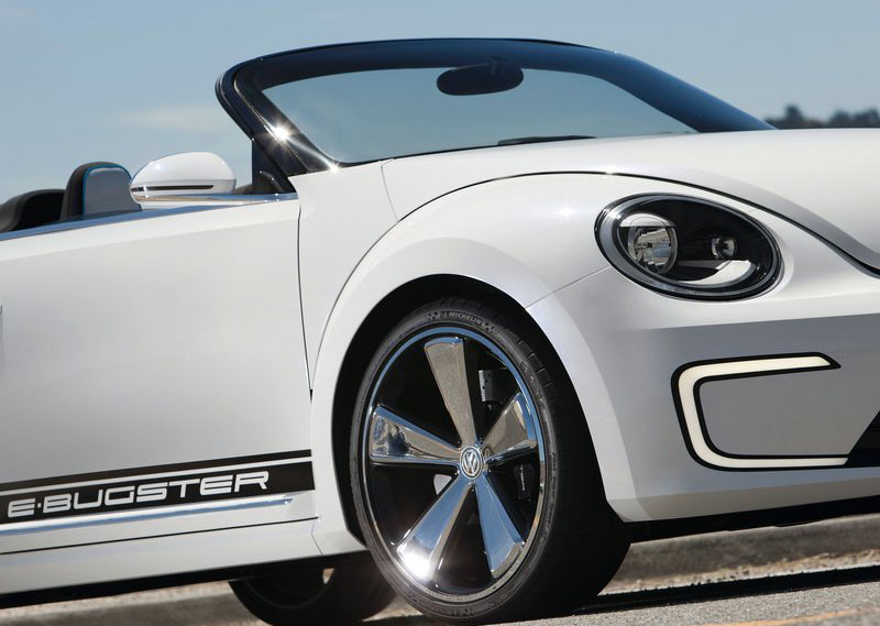 2017 Volkswagen E Bugster Speedster Concept photo - 3