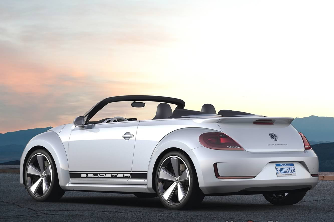 2017 Volkswagen E Bugster Speedster Concept photo - 4