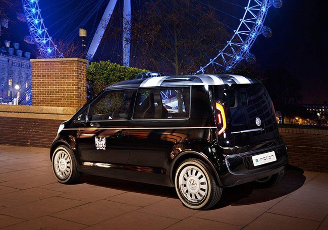 2017 Volkswagen London Taxi Concept photo - 1